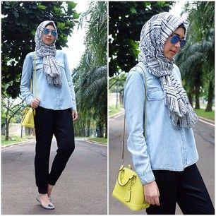 Fashion Hijab Trendy Rani Hatta (ranihatta) on Instagram | iPhoneogram