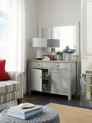 StantonR Grey Sideboard From Next