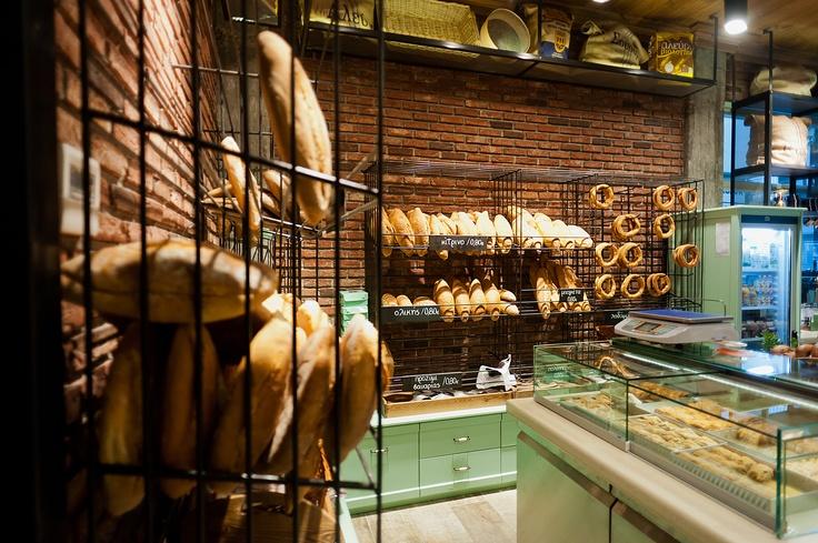 kogias'' bakery. interior design: constantinos bikas | bakery