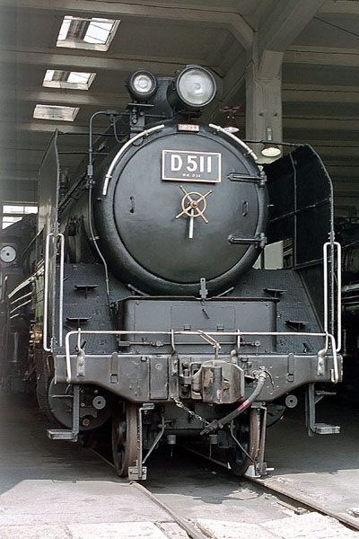 Kano鉄道局 梅小路の機関車