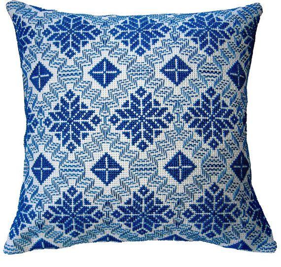 Handwoven Swedish Weave Pillow