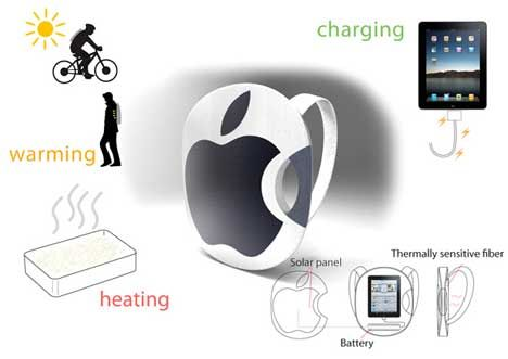 Solar-Powered Backpack Even Steve Jobs Would Wear : TreeHugger