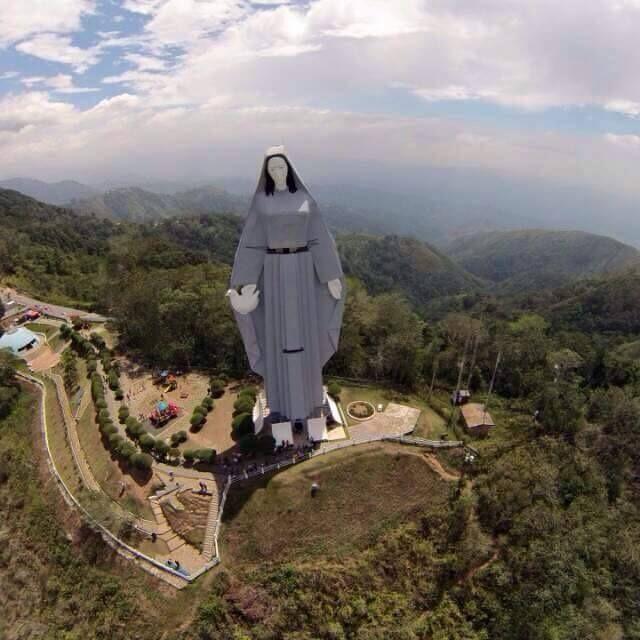 Monumento La Virgen de La Paz Trujillo,Venezuela