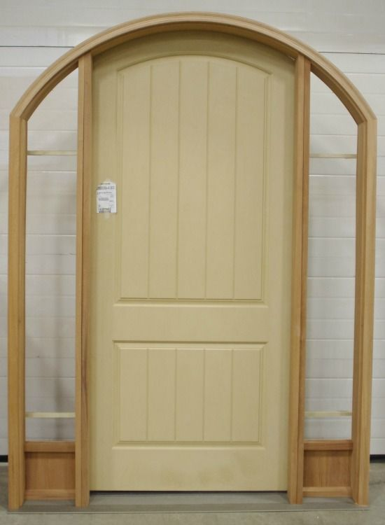 Wood Door and Sidelites