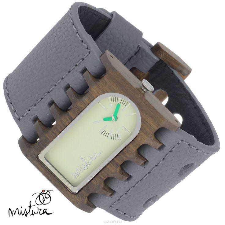 Часы наручные Mistura Ferro, цвет: серо-коричневый. TP08001GYPUGWWD