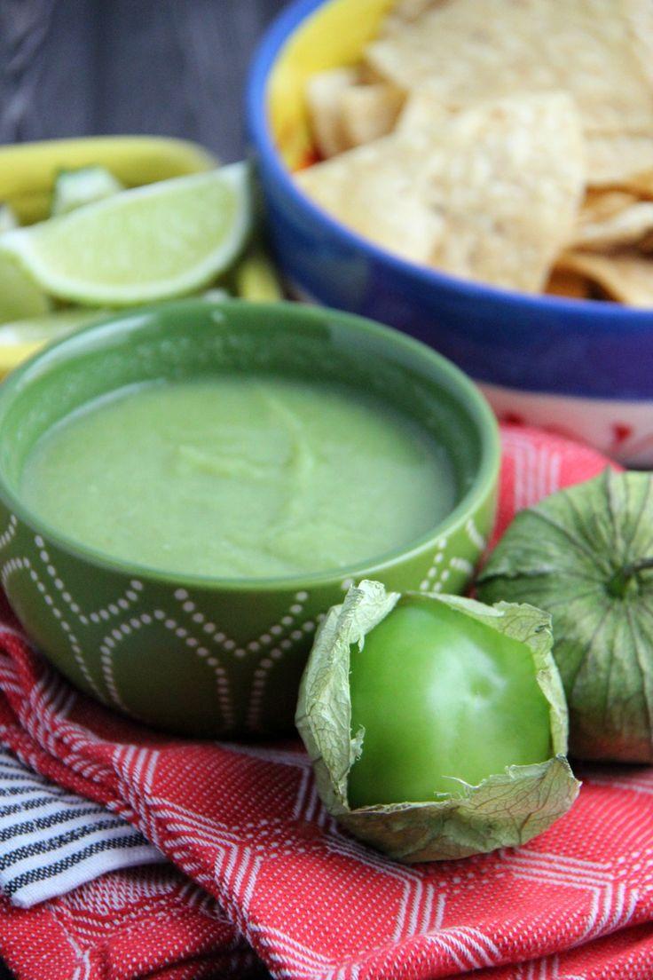 Traditional Salsa Verde Recipe (Green Tomatillo Salsa)