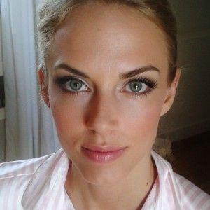 Hair and makeup for model Sierra Andersen Lorenzini by Janita Helova www.janitahelova.com