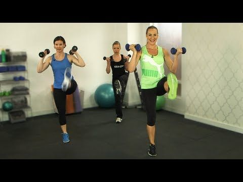 If you have 10 minutes to spare, celebrity trainer Andrea Orbeck can help you get beach-ready. To help you rock your bikini bottoms, our latest Class FitSugar offers a full-body workout with a focus on the legs and glutes. Grab a set of three- to eight-pound dumbbells, press play, and get ready to work.