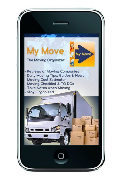 My Move (Apple and Android) Having trouble finding the best moving company? MyMove will help search your area to find the best company at the best price. You can read reviews, get personal testimonials, and create a checklist so you don't forget anything.