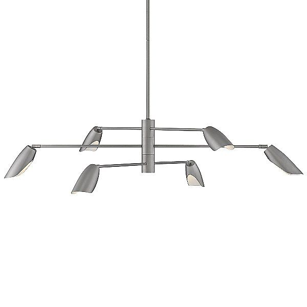 Fredrick Ramond Bowery 3-Tier LED Chandelier – FR35806BLK in Black
