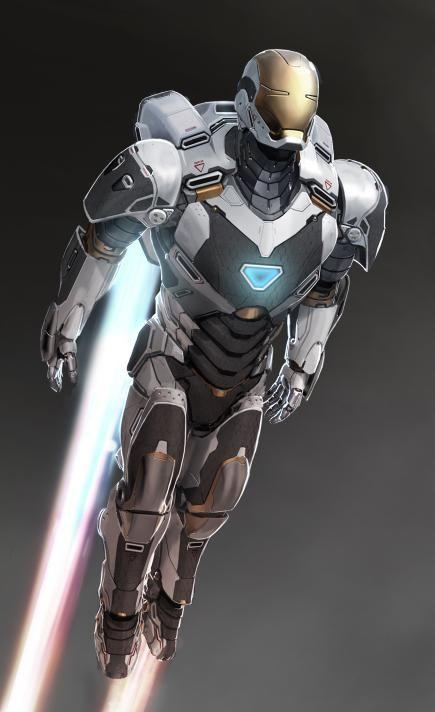 IRON MAN 3 Concept Art for Hulkbuster and SpaceArmor! - News - GeekTyrant