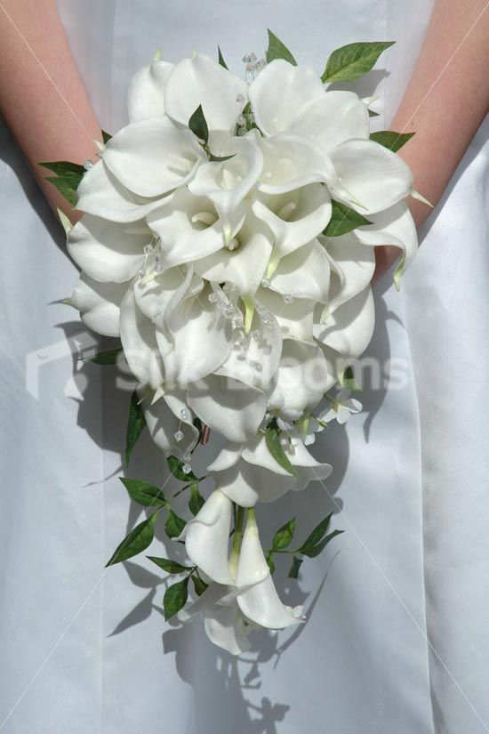Simple Lily Bridal Bouquet : Best ideas about lily wedding bouquets on