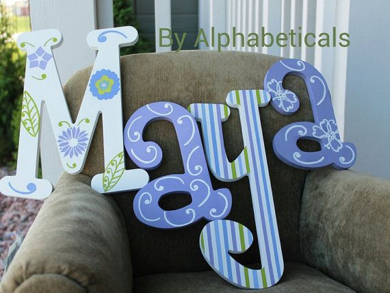 Best 25+ Hanging Wooden Letters Ideas On Pinterest