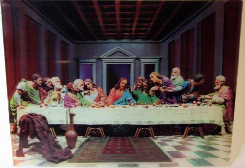 Last Supper Jesus Christ Apostles 3D Lenticular 12x16 Poster Varivue | eBay