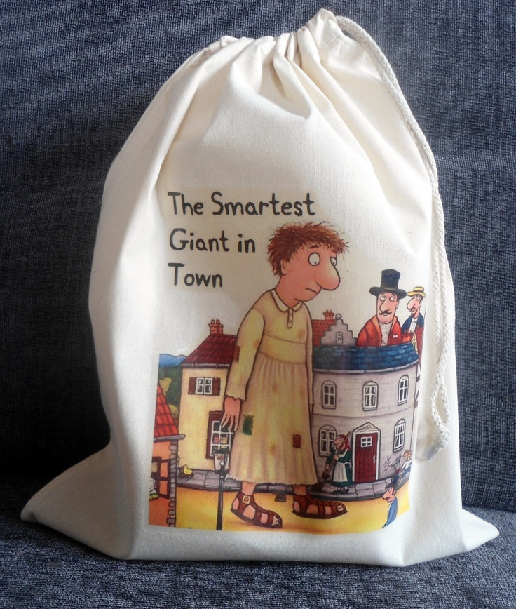 THE SMARTEST GIANT IN TOWN Story Sack, £9.99