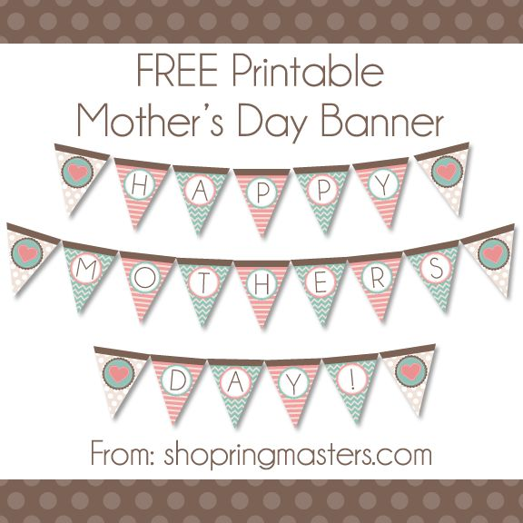 FREE Mother's Day Banner – Ringmasters | CTR Rings | LDS Gifts | LDS Jewelry