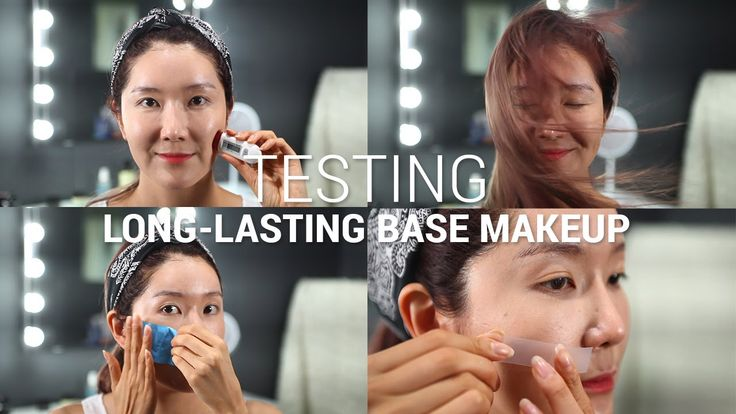 Testing Long Lasting Base Makeup Tutorial | Does It Really Work? (7 Tests)