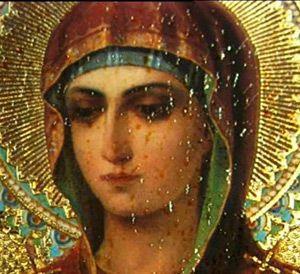 """Современная чудотворная ( мироточивая, кровоточивая и благоухающая) икона Божией Матери """"Умягчение злых сердец"""". Ее история и чудеса!"""