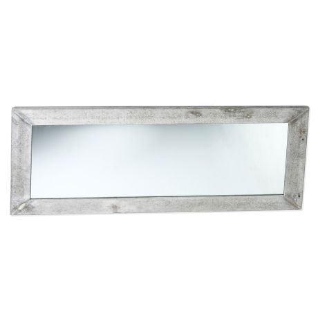 Perfect Spiegel Betonoptik Fiberstone Rahmen Stand Wandspiegel HxBxT cm Vorderansicht
