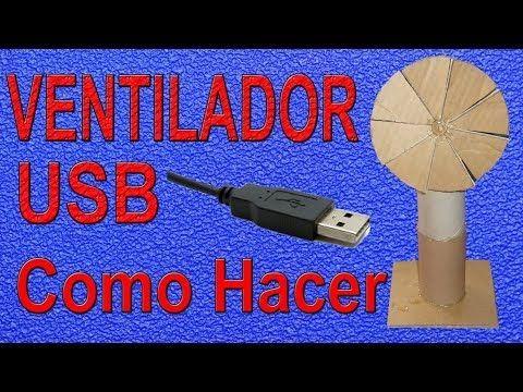 Cómo Hacer Un Ventilador Casero (Muy fácil de hacer) - https://www.youtube.com/watch?v=g_GWg0CobDA