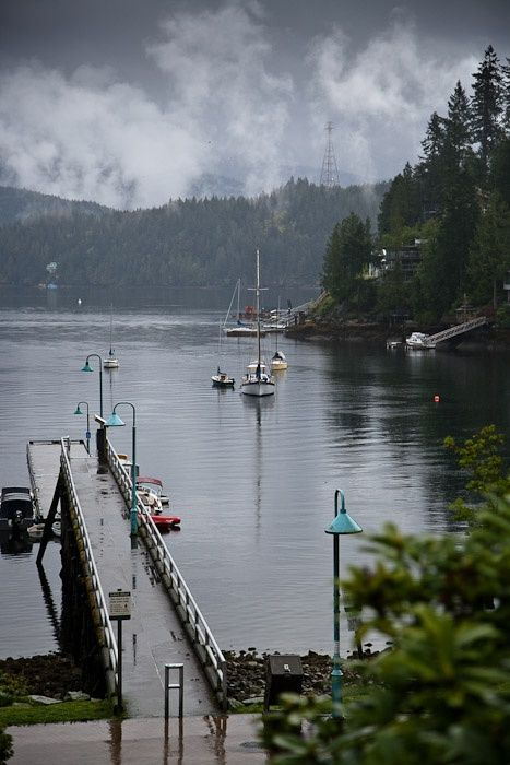 Deep Cove, North Vancouver, British Columbia, Canada. Photo by Karin Esau.