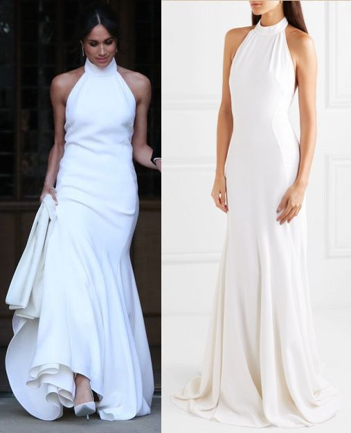 e34bd38cf NOW AVAILABLE! STELLA MCCARTNEY Crepe halterneck gown