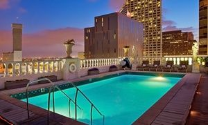 Groupon - Stay at Le Pavillon in New Orleans, with Dates into December in New Orleans, LA. Groupon deal price: $89