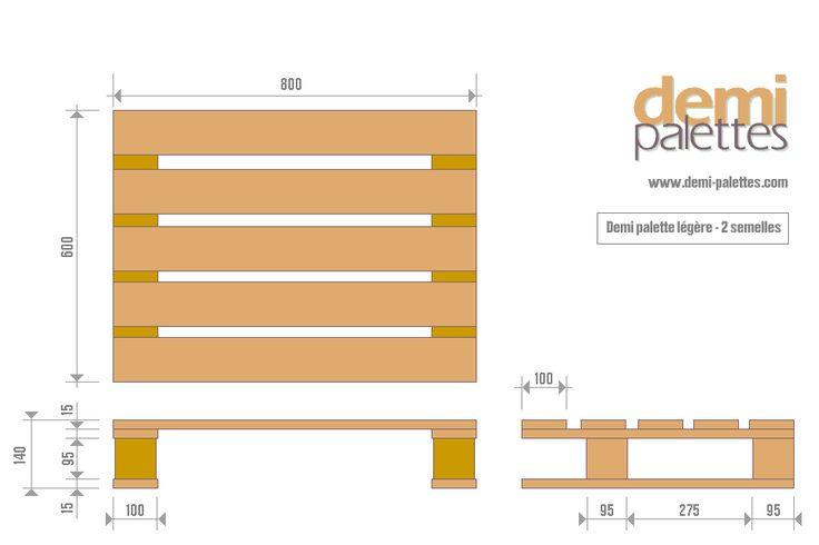 palette europe taille. Black Bedroom Furniture Sets. Home Design Ideas
