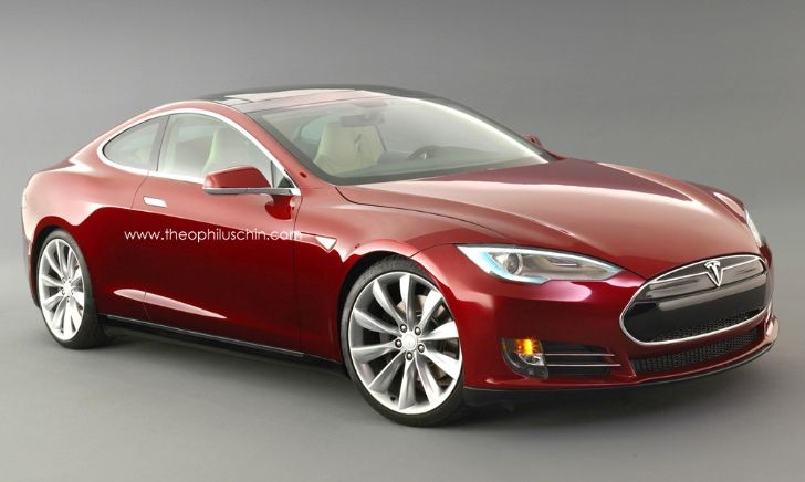 Tesla Model S Coupe Rendering this would be interesting