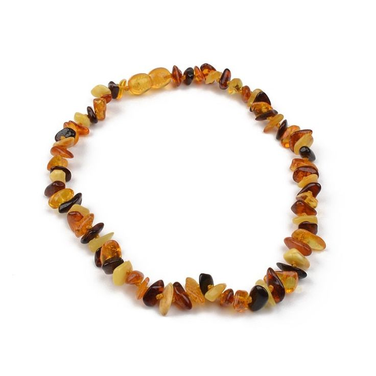 Amber Necklace For Teething Baby  www.therussianstore.com