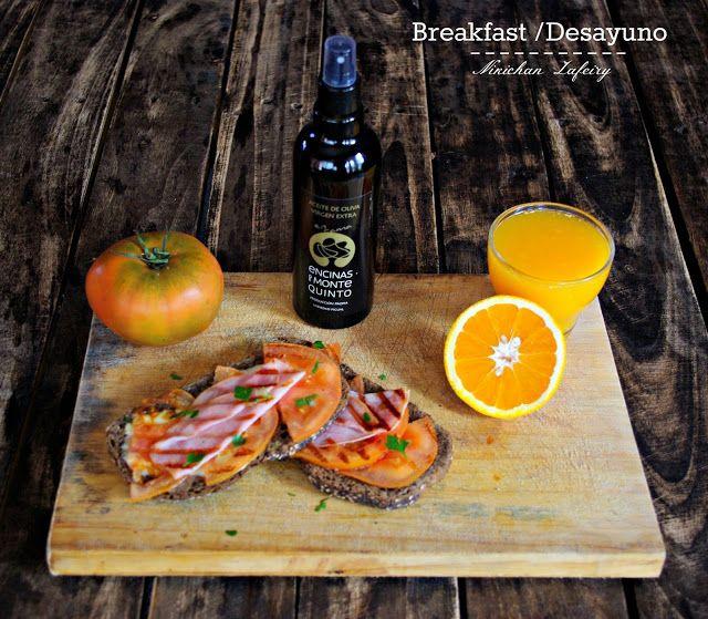 Desayuno Mediterráneo Sano / Healthy Breakfast