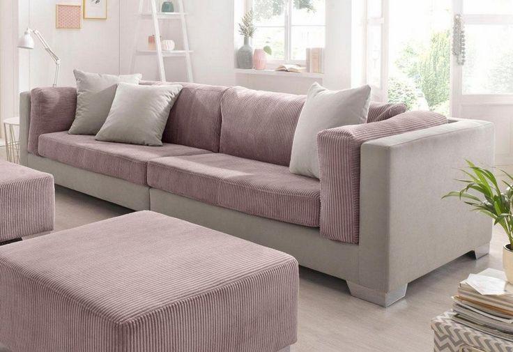 BENFORMATO HOME Big-Sofa für 1.099,99€. Frei im Raum stellbar, Inklusive loser Zierkissen, In hochwertiger Verarbeitung bei OTTO