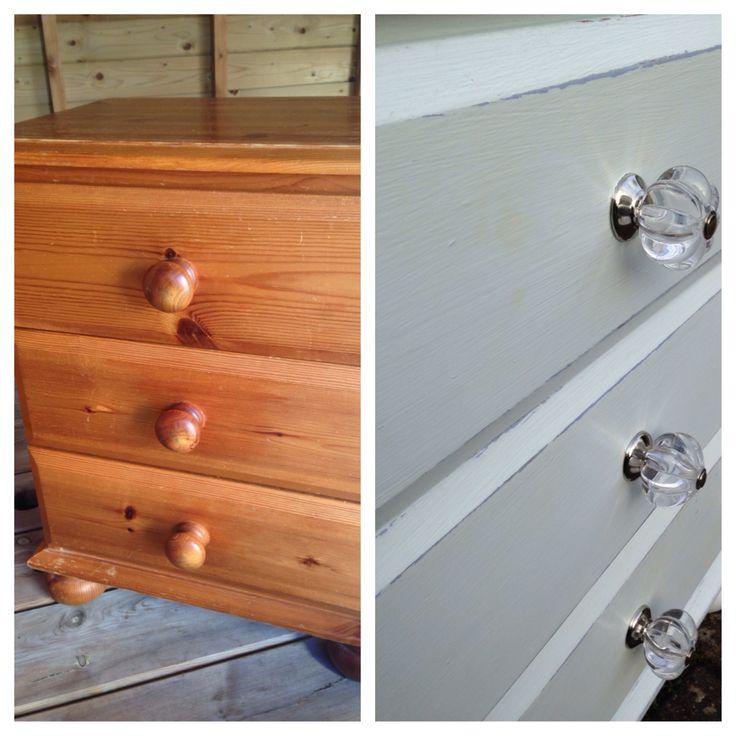 Bedside cabinets #farrowandball #upcycling