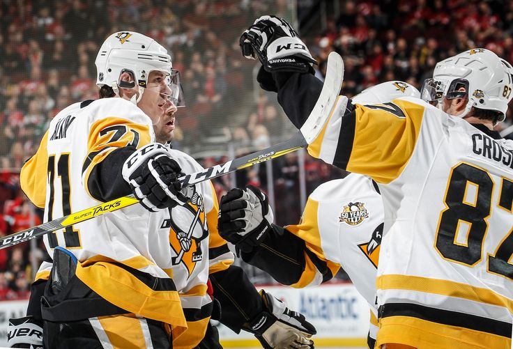 December 27, 2016 at New Jersey. Sidney Crosby and Evgeni Malkin combined for five points (2G-3A) to help Pittsburgh to victory Final Score, 5-2 Penguins.