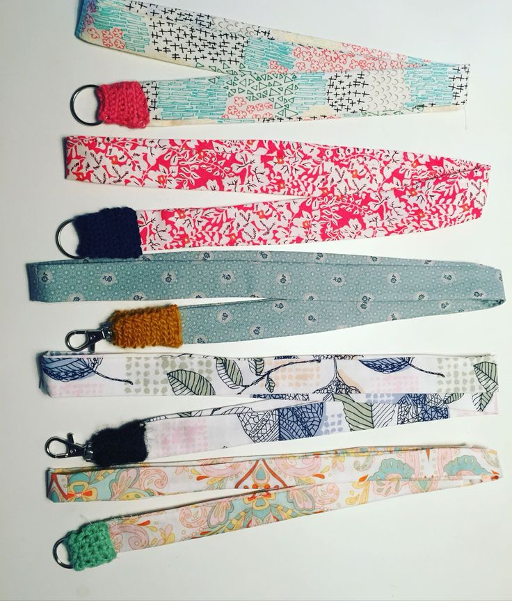 Key hangers - Made by J (Jeanette Lindenskov)