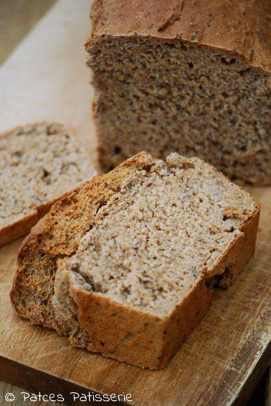 Einkorn-Brot mit Dinkel & Leinsaat