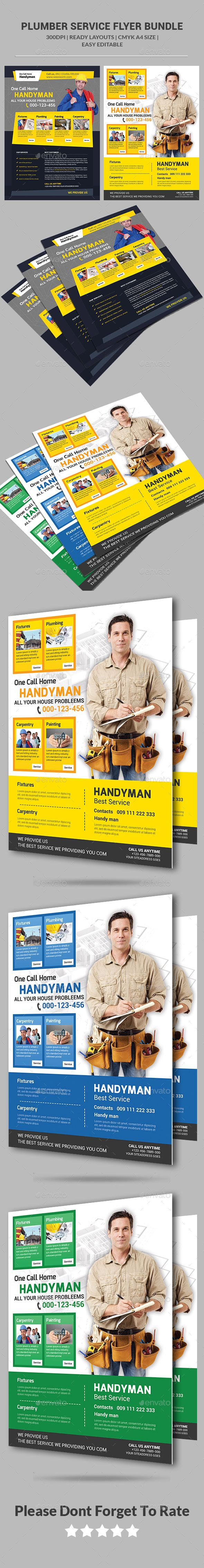 51 best Handyman Services Flyers / Print Templates / PSD images on ...