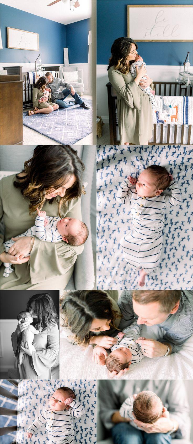 Newborn Baby Boy InHome Lifestyle Session Baby boy
