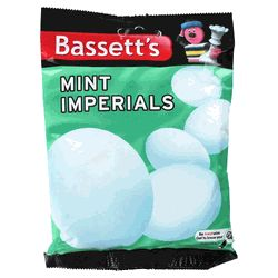 Bassett's Mint Imperials Bag - 7.05oz (200g) http://www.englishteastore.com/bassetts-mint-imperials-bag-200g.html