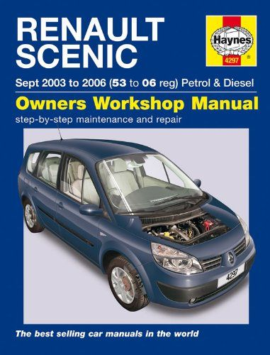 Renault Scenic Petrol and Diesel Service and Repair Manual: 2003 to 2006 (Haynes Service and Repair Manuals):Amazon.co.uk:Car & Motorbike