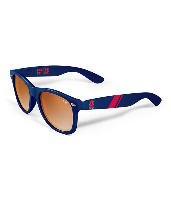 Look at this #zulilyfind! Boston Red Sox Retro Sunglasses - Adult by Maxx Sunglasses #zulilyfinds