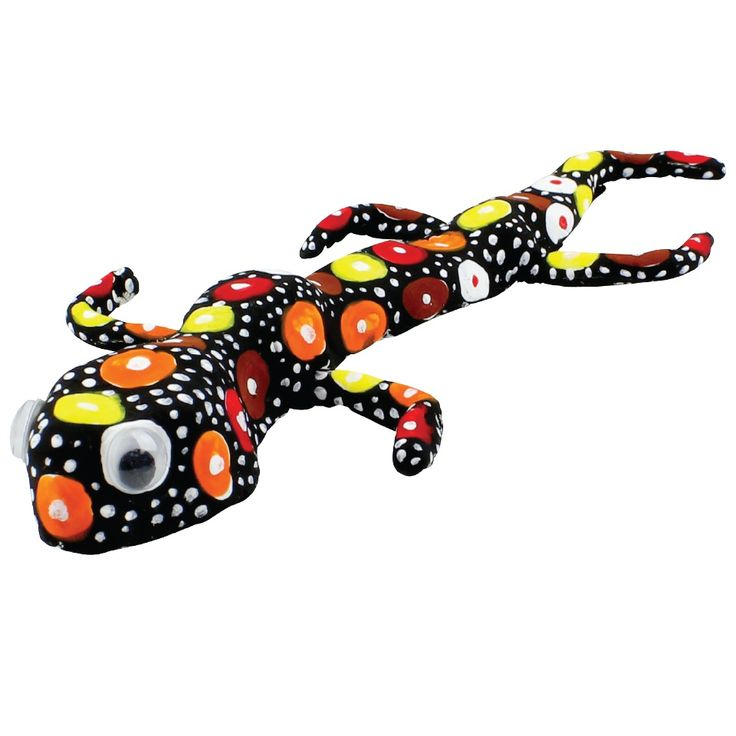 Muk-kun the Clay Lizard - great activity for NAIDOC Week