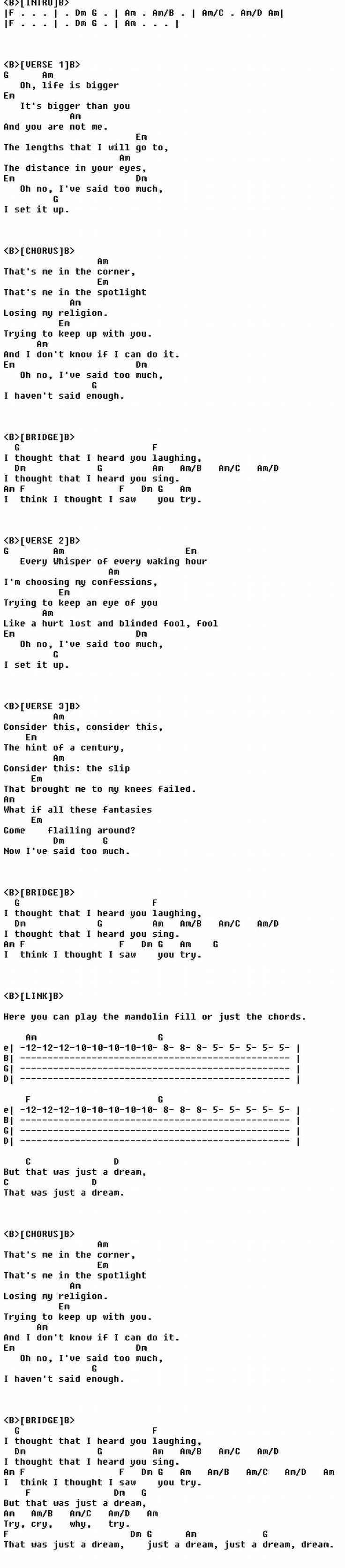 Best 25 losing my religion ideas on pinterest rem lyrics rem losing my religion hexwebz Images