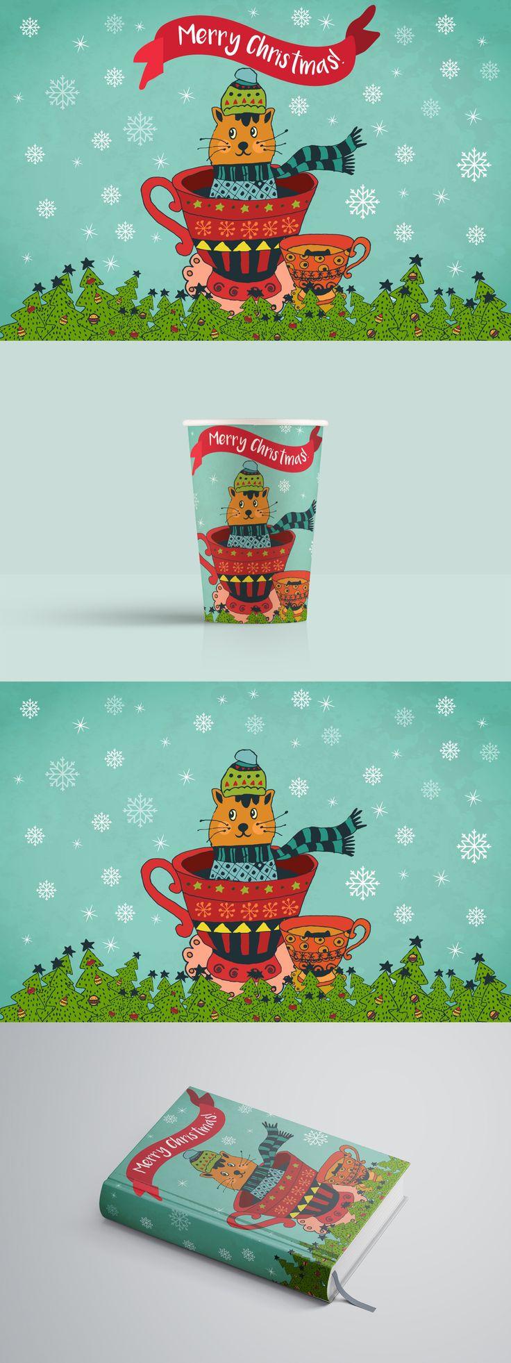 Merry Christmas Free Illustration Art Free