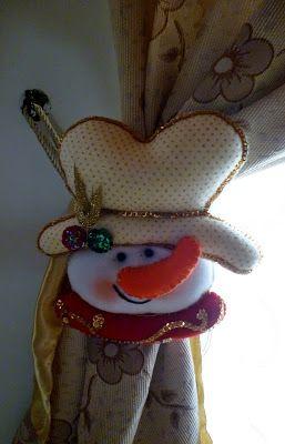 Cortinero navideño