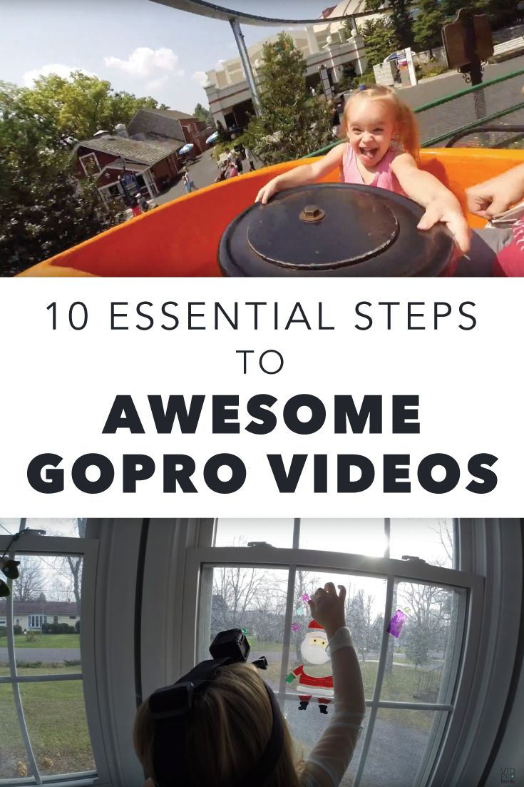 10 Tips for Awesome GoPro Videos and Family Movies - from VidProMom