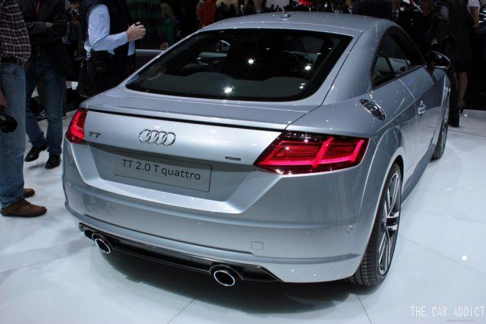 Genf 2014: Neuer Audi TT (2015)