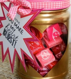 Make Valentine's Day extra special with these unique, homemade Valentines Day gifts for him. These DIY ideas are affordable and thoughtful so skip the generic candy ideas and personalize your Valentines Day gifts this year! 52 Things I Love About You Playing Cards + Mod-Podge + Binder Rings + One Hole Punch + Scissors DIY Candle Carved with Initials …