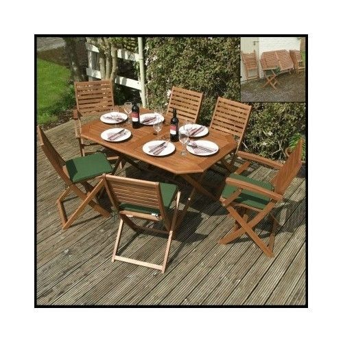 Patio-Dining-Set-Garden-Outdoor-Furniture-Table-Chairs-7-Piece-Lawn-Wooden-Deck