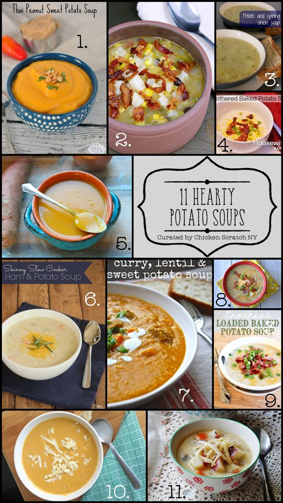 Get your favorite soup bowl ready for this delicious collection of hearty potato soup recipes